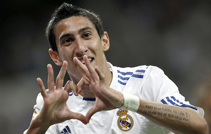 Angel di maria man united