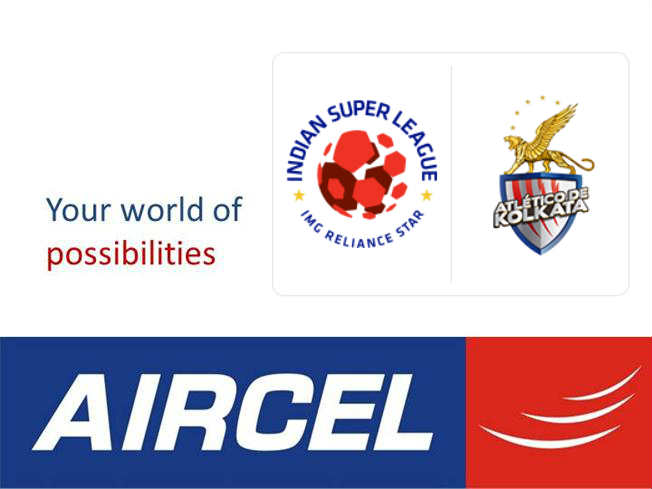 Aircel becomes Atletico de Kolkata title sponsor