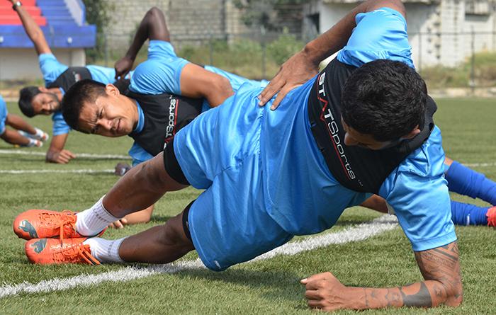 Bengaluru FC training